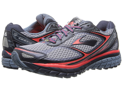 Brooks - Ghost 7 GTX (Storm/Midnight/Fiery Coral) Women