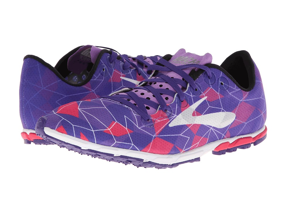 Brooks - Mach 16 Spikeless (Azaia/Deep Lavender/Deep Blue) Women