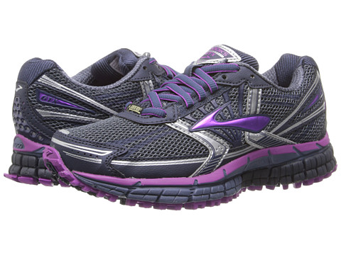 Brooks - Adrenaline ASR 11 GTX (Vintage Indigo/Midnight/Purple Cctus Flower) Women