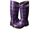 Bogs Rainboot Buffalo Plaid (Grape)