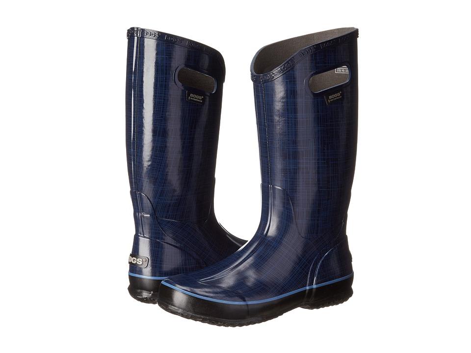 Bogs - Linen Rainboot (Indigo) Women's Rain Boots