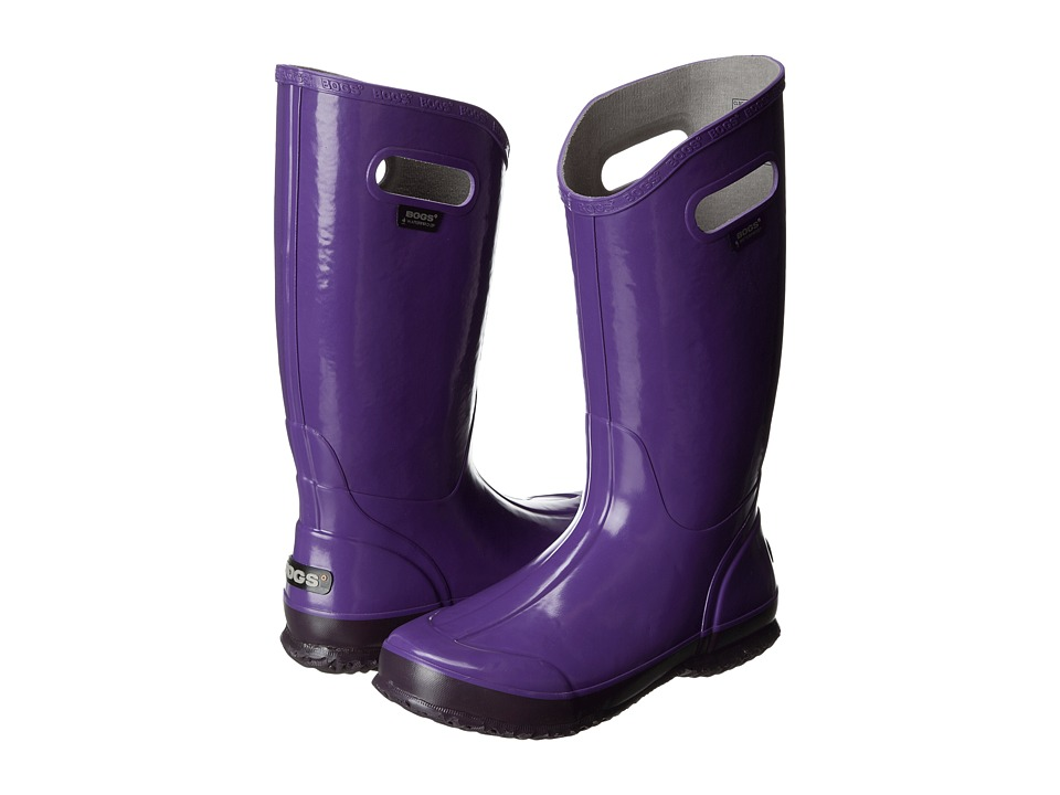 Bogs - Classic Glosh Rainboot (Grape) Women