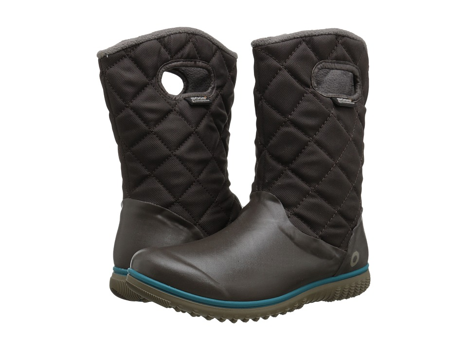Bogs - Juno Mid (Chocolate) Women's Cold Weather Boots