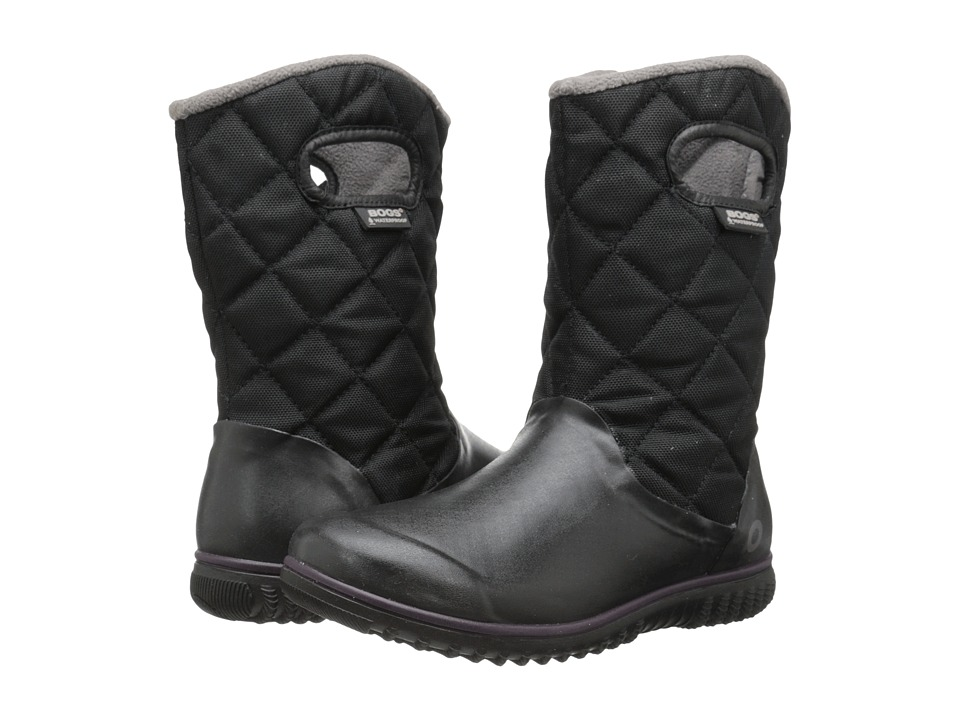 Bogs - Juno Mid (Black) Women's Cold Weather Boots