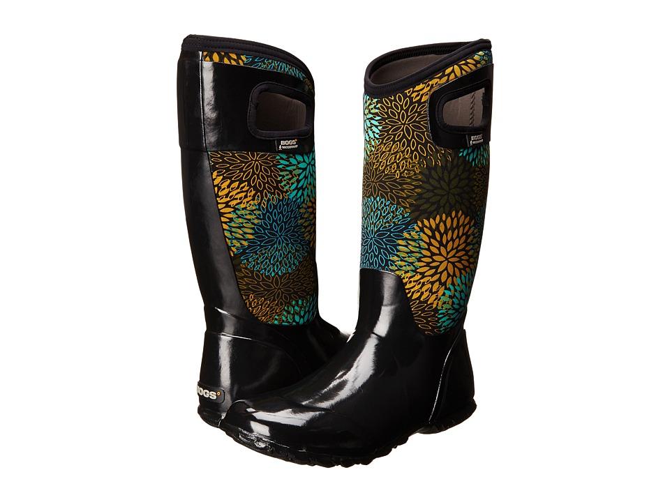 Bogs - North Hampton Floral (Black Multi) Women's Shoes
