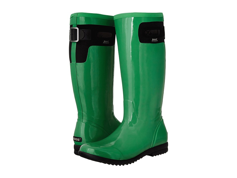Bogs - Tacoma Solid Tall (Leaf Green) Women