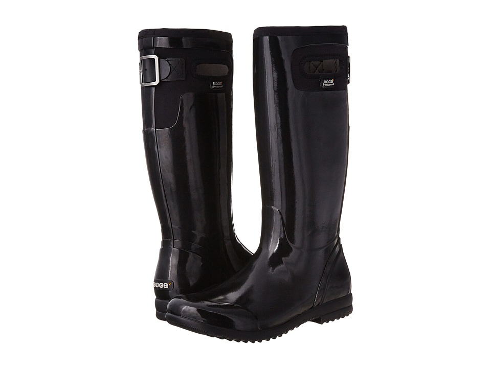 Bogs - Tacoma Solid Tall (Black) Women's Rain Boots