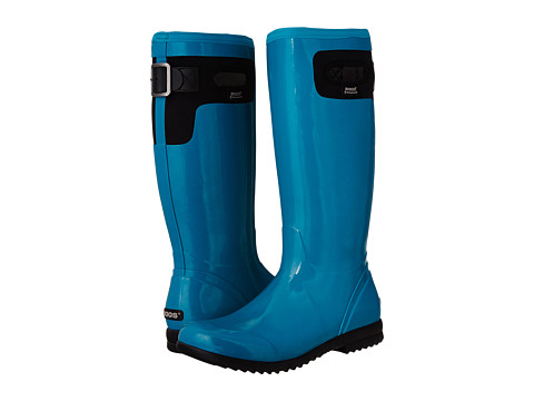 Bogs - Tacoma Solid Tall (Teal) Women's Rain Boots