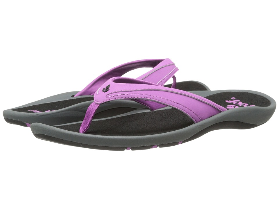 Reef - Movement (Grey/Purple) Women's Sandals