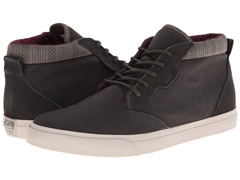 Reef - Outhaul (Charcoal) Men's Lace up casual Shoes