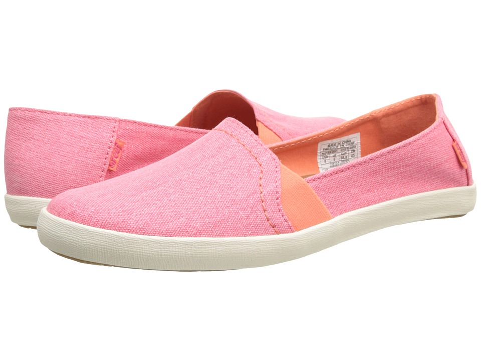 Reef - Sun Drift (Pink/Coral) Women's Slip on Shoes