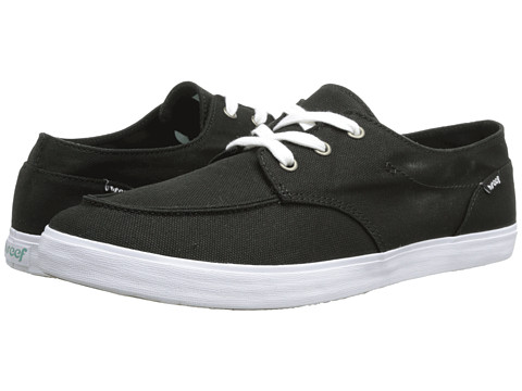 Reef - Deck Hand 2 (Black) Women's Lace up casual Shoes