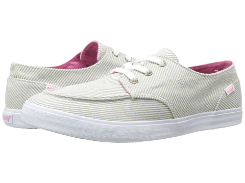 Reef - Deck Hand 2 TX (Cream Stripes) Women