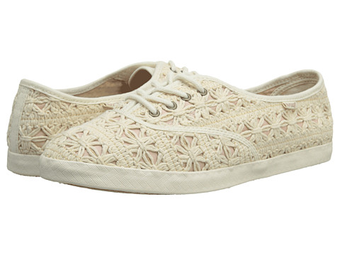 Reef - Dew Kist 2 (Cream/Pink) Women's Lace up casual Shoes