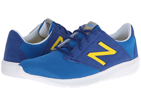 New Balance Classics - ML1320 (Blue/Yellow) Men's Classic Shoes