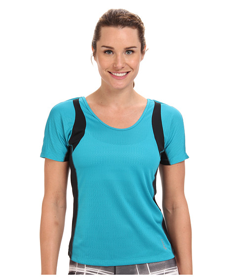 ASICS - Abby Short-Sleeve Tee (Bondi Blue) Women