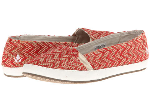 Reef - Summer (Red Burlap) Women's Flat Shoes