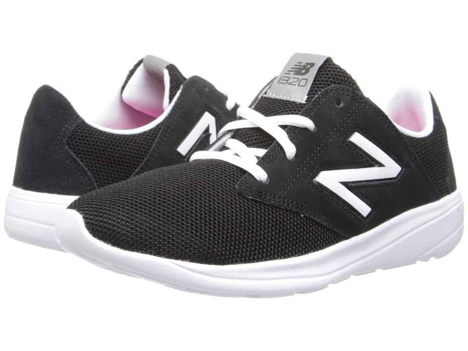 New Balance Classics - WL1320 (Black/White) Women's Classic Shoes