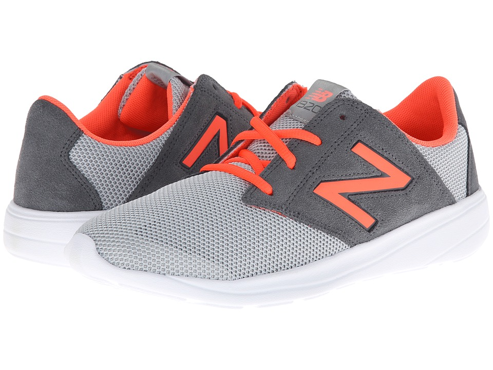 New Balance Classics - WL1320 (Grey/Red) Women's Classic Shoes