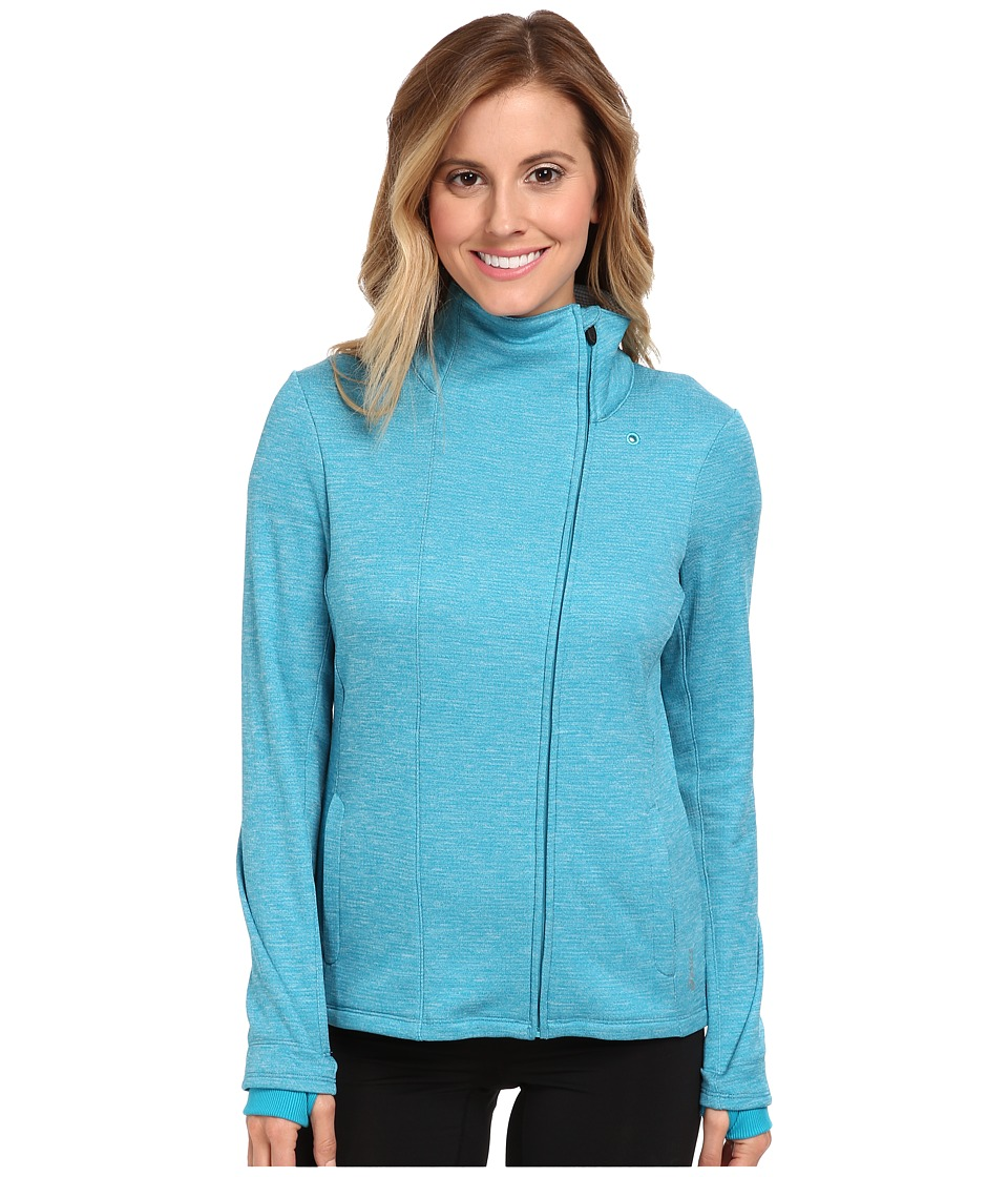 ASICS - Abby Layering Jacket (Bondi Blue) Women