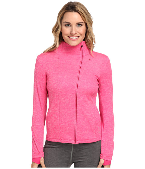 ASICS - Abby Layering Jacket (Magenta) Women's Clothing