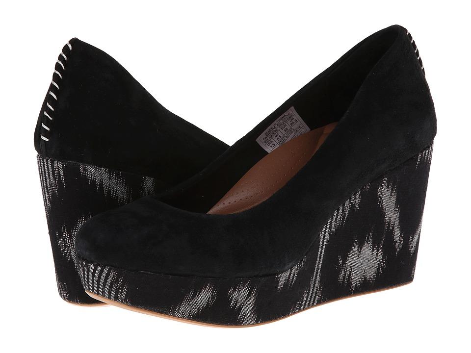 Reef - High Tropic (Black) Women's Slip on Shoes