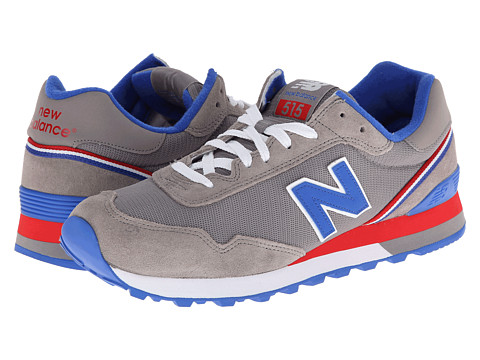 New Balance Classics - ML515 (Grey/Blue '14) Men's Classic Shoes