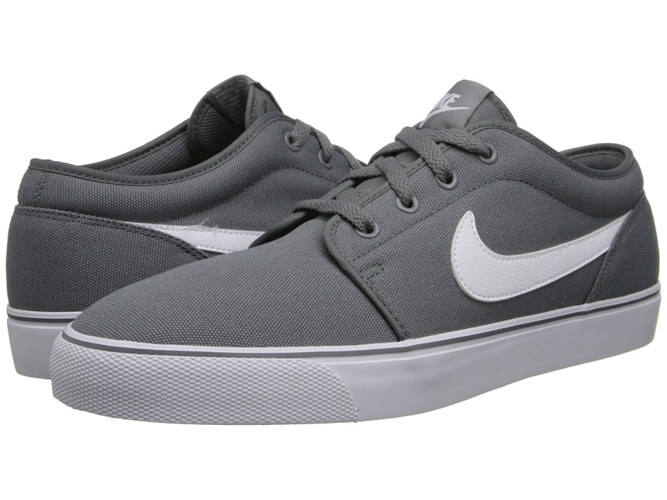 Nike - Toki Textile - Low (Cool Grey/White) Men's Shoes