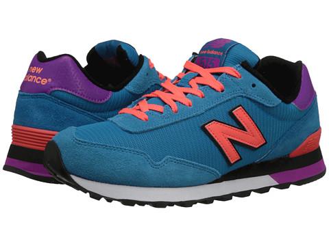 New Balance Classics - WL515 (Blue/Pink) Women's Classic Shoes