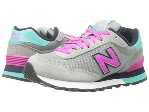 New Balance Classics - WL515 (Grey/Pink '14) Women's Classic Shoes