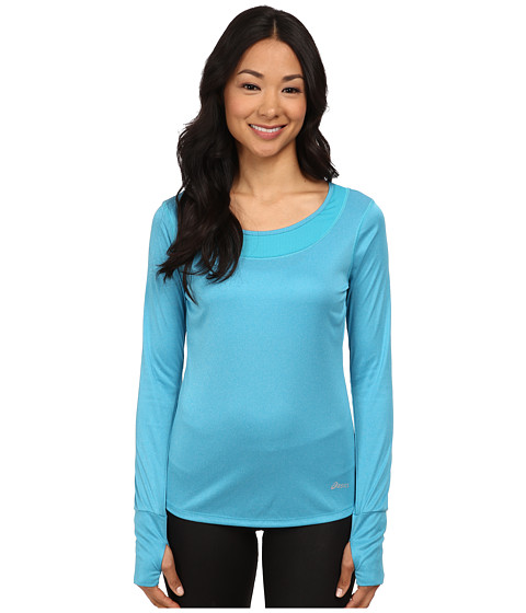 ASICS - Fit-Sana Long-Sleeve Tee (Bondi Blue) Women