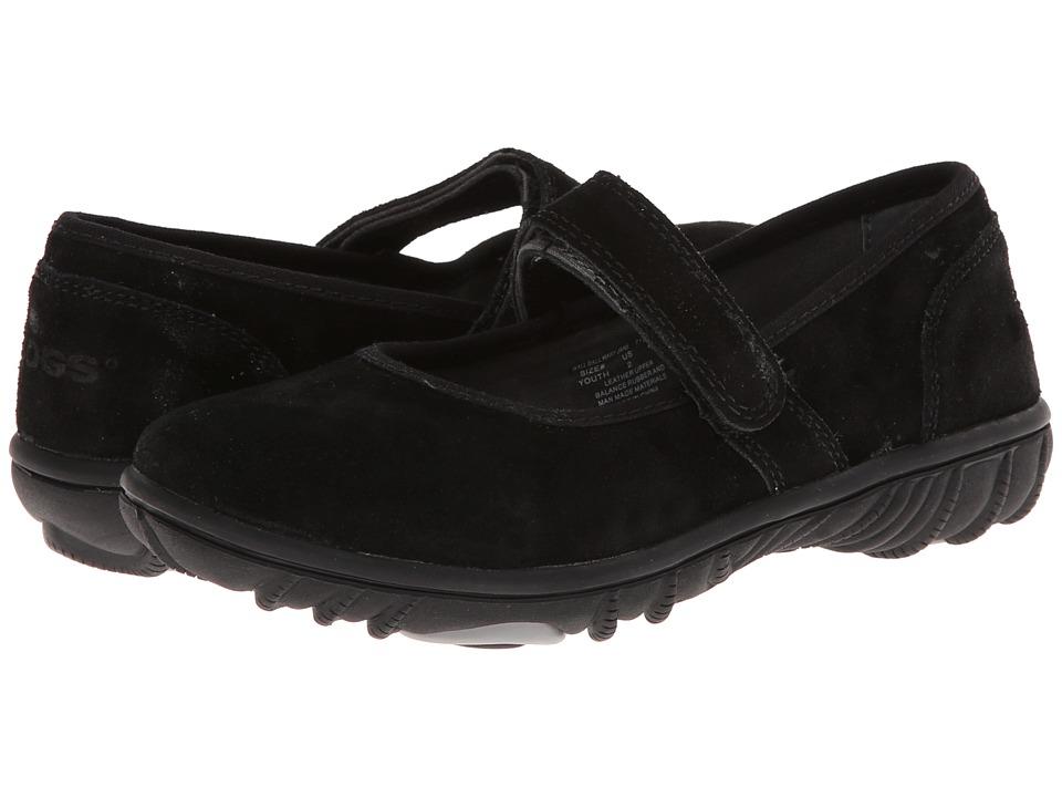 Bogs Kids - Wall Ball Mary Jane (Toddler/Little Kid/Big Kid) (Black) Girls Shoes