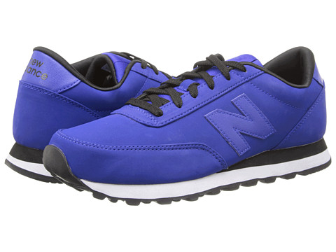 New Balance Classics - ML501 - High Roller (Blue/White/Brown) Men's Classic Shoes