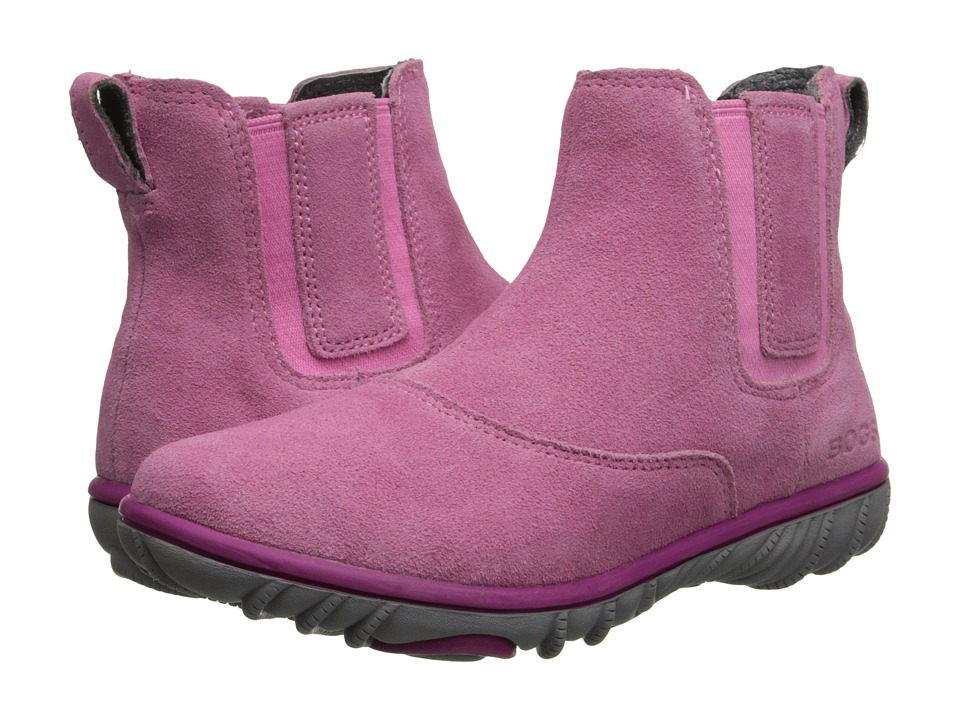 Bogs Kids - Wall Ball Chelsea Boot (Little Kid/Big Kid) (Bubble Gum Pink) Girls Shoes