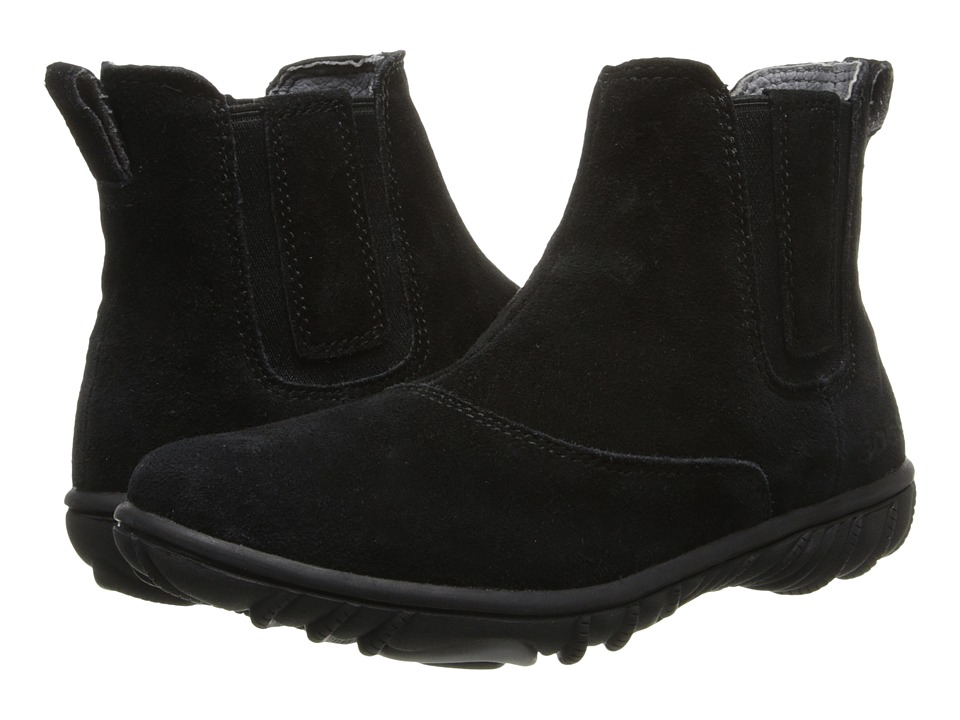 Bogs Kids - Wall Ball Chelsea Boot (Little Kid/Big Kid) (Black) Girls Shoes