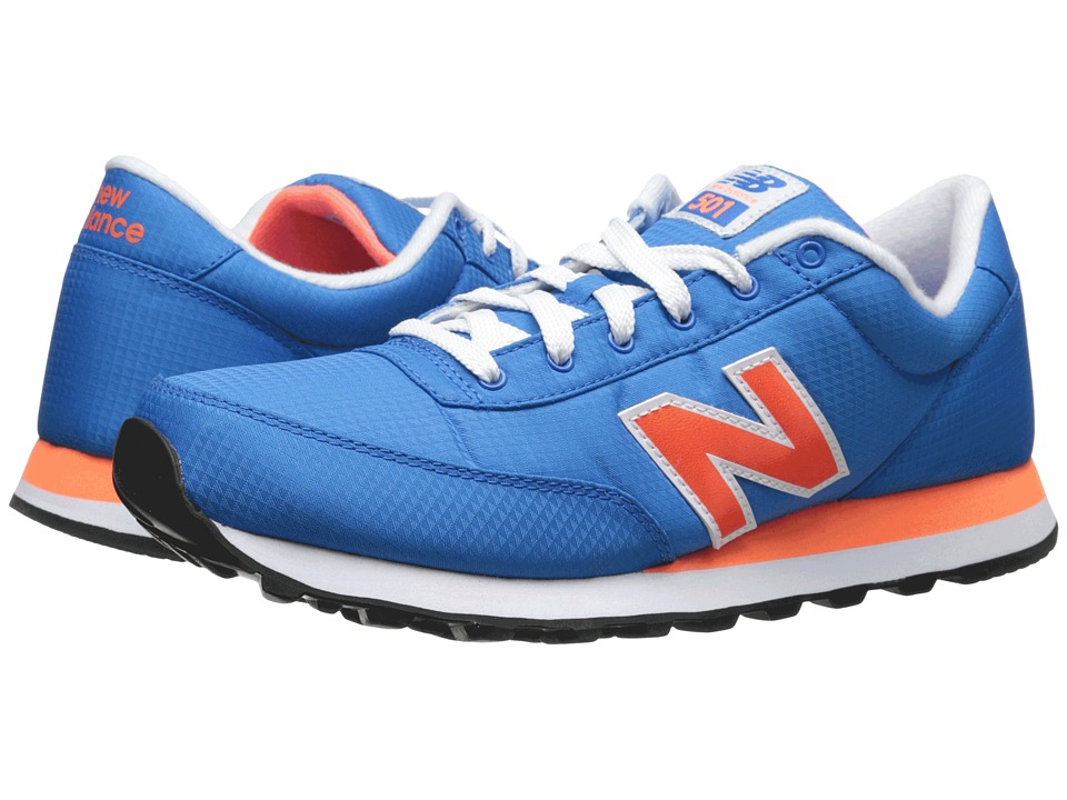 New Balance - ML501 - Windbreaker (Blue/Orange) Men's Classic Shoes