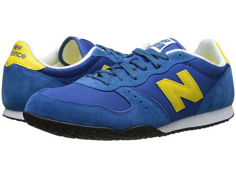 New Balance Classics - ML402 (Blue/Yellow) Men's Classic Shoes