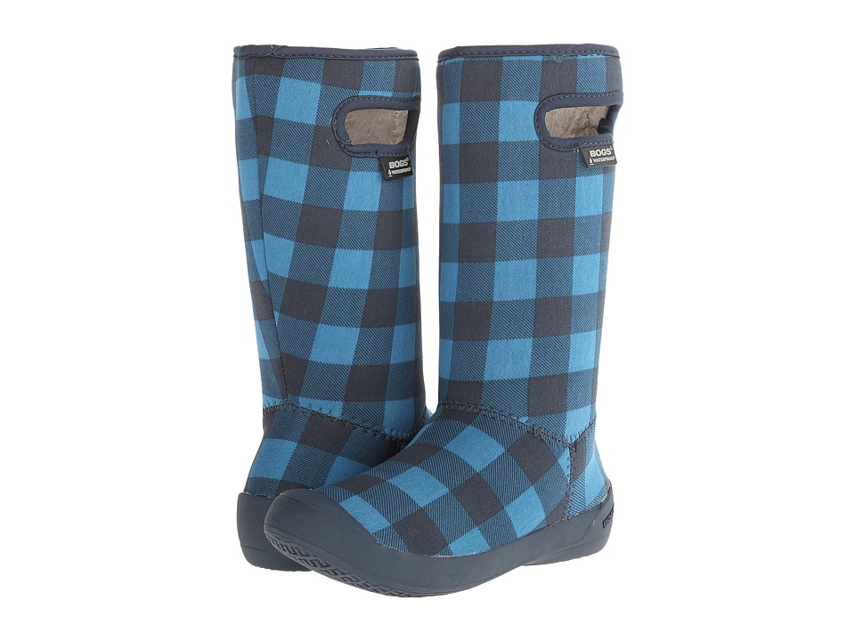Bogs Kids - Summit Buffalo Plaid (Toddler/Little Kid/Big Kid) (Blue Multi) Girls Shoes