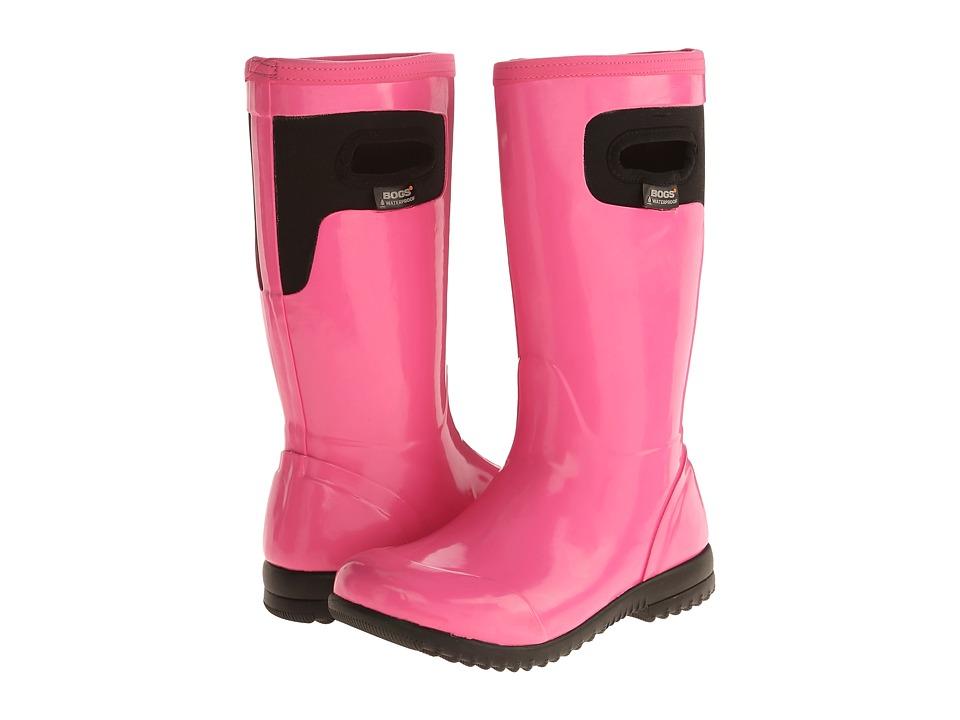 Bogs Kids - Tacoma Solid (Toddler/Little Kid/Big Kid) (Hot Pink) Girls Shoes