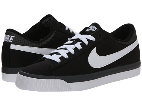 Nike - Match Supreme TXT (Black/Anthracite/White/White) Men's Lace up casual Shoes