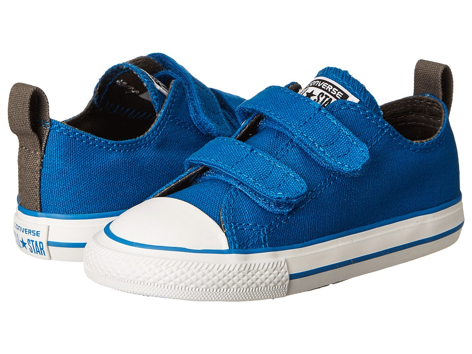 Converse Kids - Chuck Taylor All Star 2V Ox (Infant/Toddler) (Larkspur) Boys Shoes