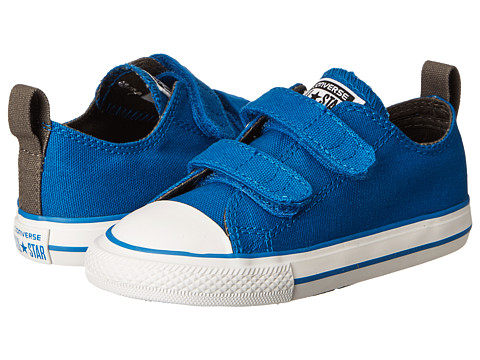 Converse Kids - Chuck Taylor All Star 2V Ox (Infant/Toddler) (Larkspur) Boys Shoes