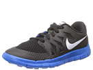 Nike Kids Free 5 (Little Kid) (Black/Anthracite/Photo Blue/White) Kids Shoes
