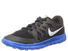 Nike Kids Free 5 (Little Kid) (Black/Anthracite/Photo Blue/White)