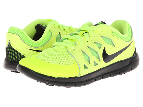 Nike Kids - Free 5 (Little Kid) (Volt/Electric Green/Photo Blue/Black) Kids Shoes