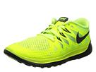 Nike Kids Free 5.0 (Big Kid) (Volt/Electric Green/Photo Blue/Black)