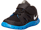Nike Kids Free 5 (Infant/Toddler) (Black/Anthracite/Photo Blue/White) Kids Shoes