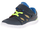Nike Kids Free 5 (Infant/Toddler) (Dark Magnet Grey/Volt/Photo Blue/Black)