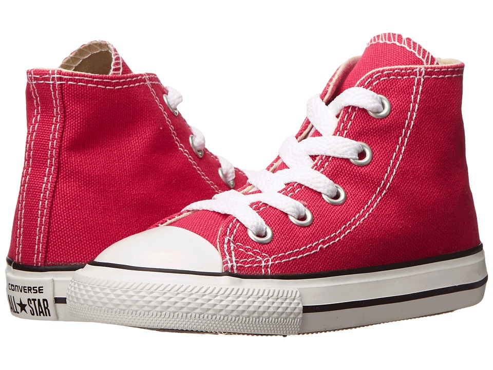 Converse Kids - Chuck Taylor All Star Hi (Infant/Toddler) (Cosmos Pink) Girls Shoes