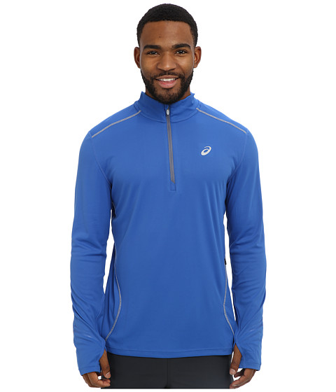 ASICS - Lite-Show Favorite 1/2 Zip (New Blue) Men